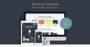 001-showcase-template-presentation-flat-clean-web-elements-psd-vol-2